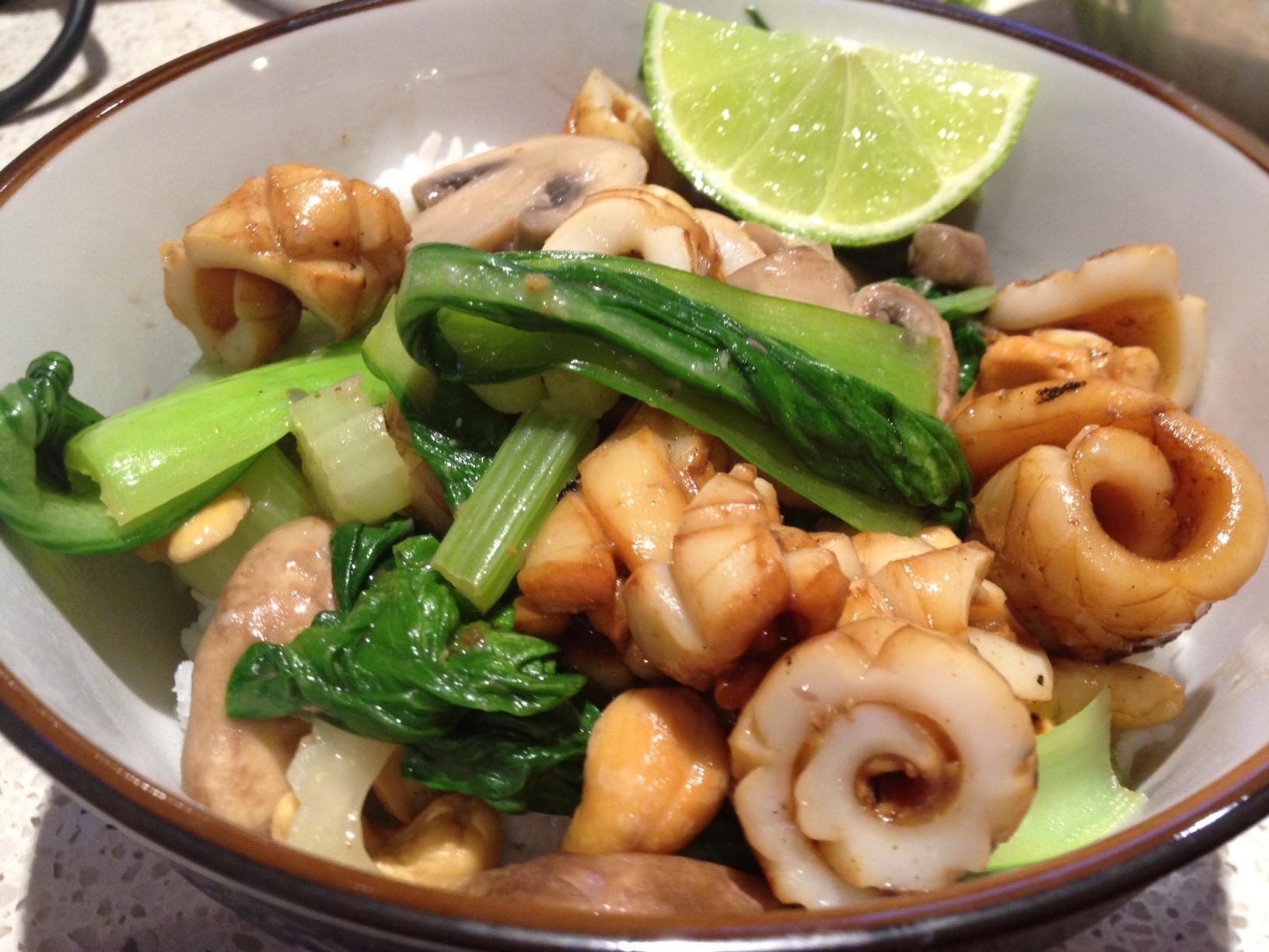 marinated squid recipe   Cauldrons and Cupcakes