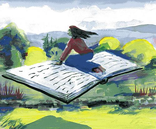 Corto de animación ganador Oscar 2012 ¿Se entiende el mensaje? Flying-book