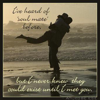 I Love You My Soul Mate
