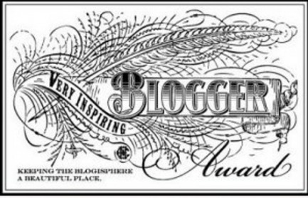 Very Inspiring Blogger Award logo