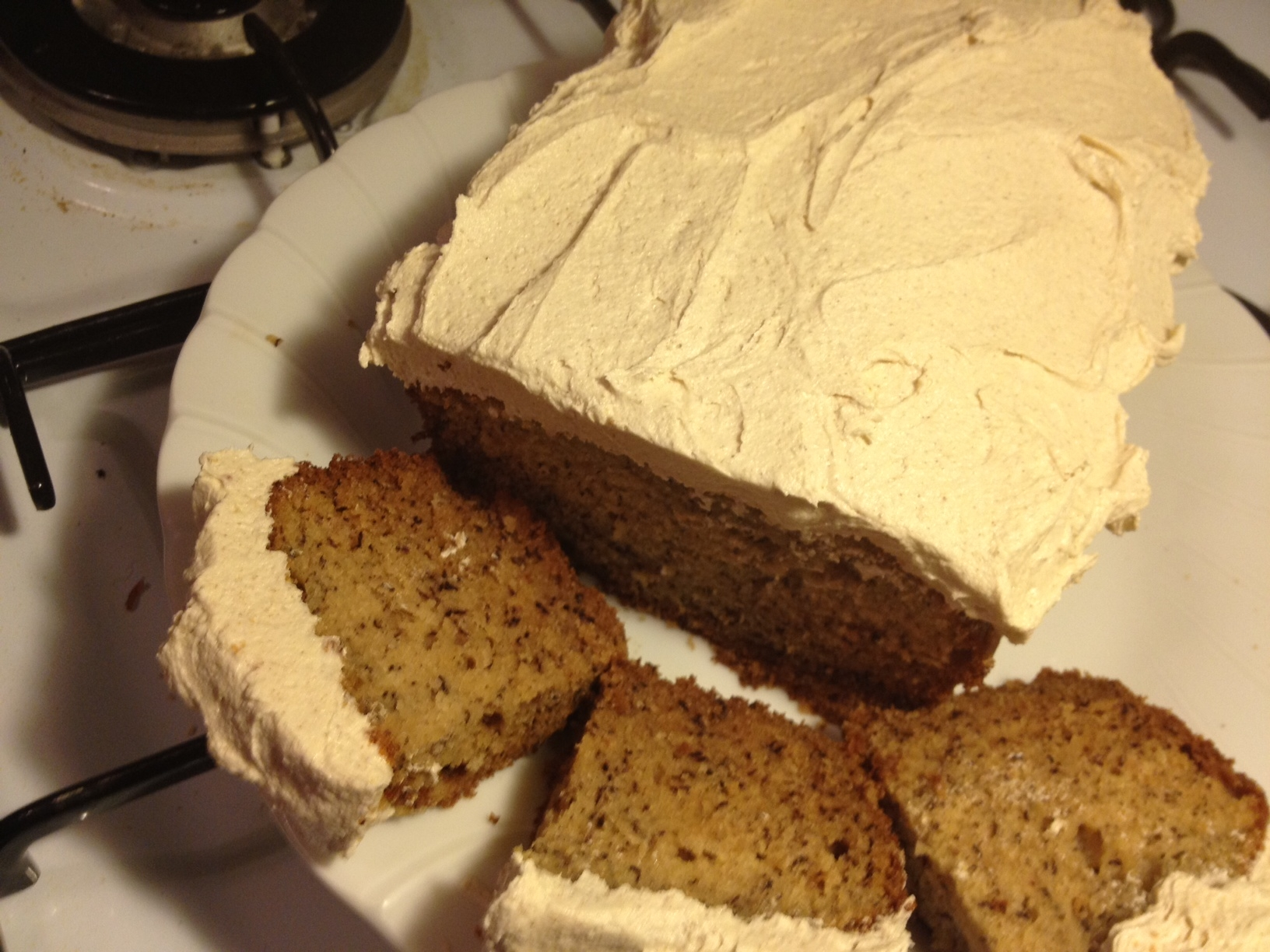 Old Fashioned Banana Cake With Banana Frosting