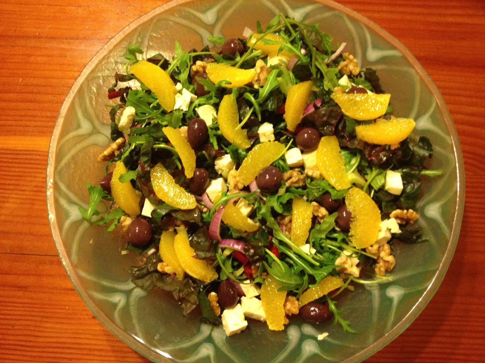 fennel and orange salad salad with orange fennel fennel and orange ...
