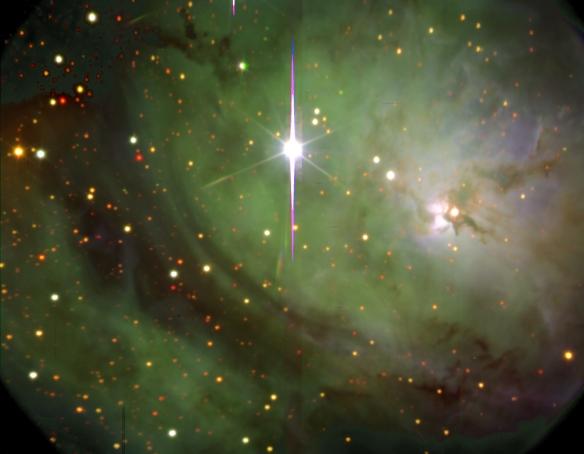 The Lagoon Nebula - image from www.science.psu.edu