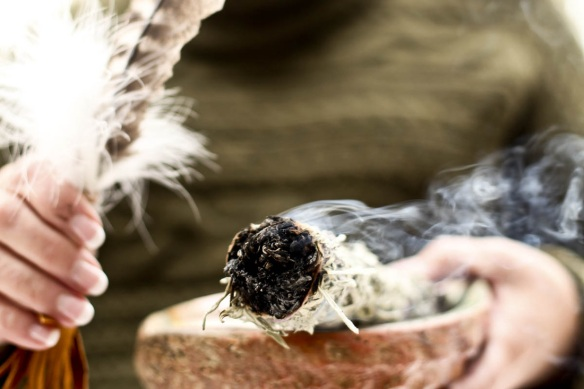 Smudge Ceremony - Image from www.whisperingwoodsbrockville.com