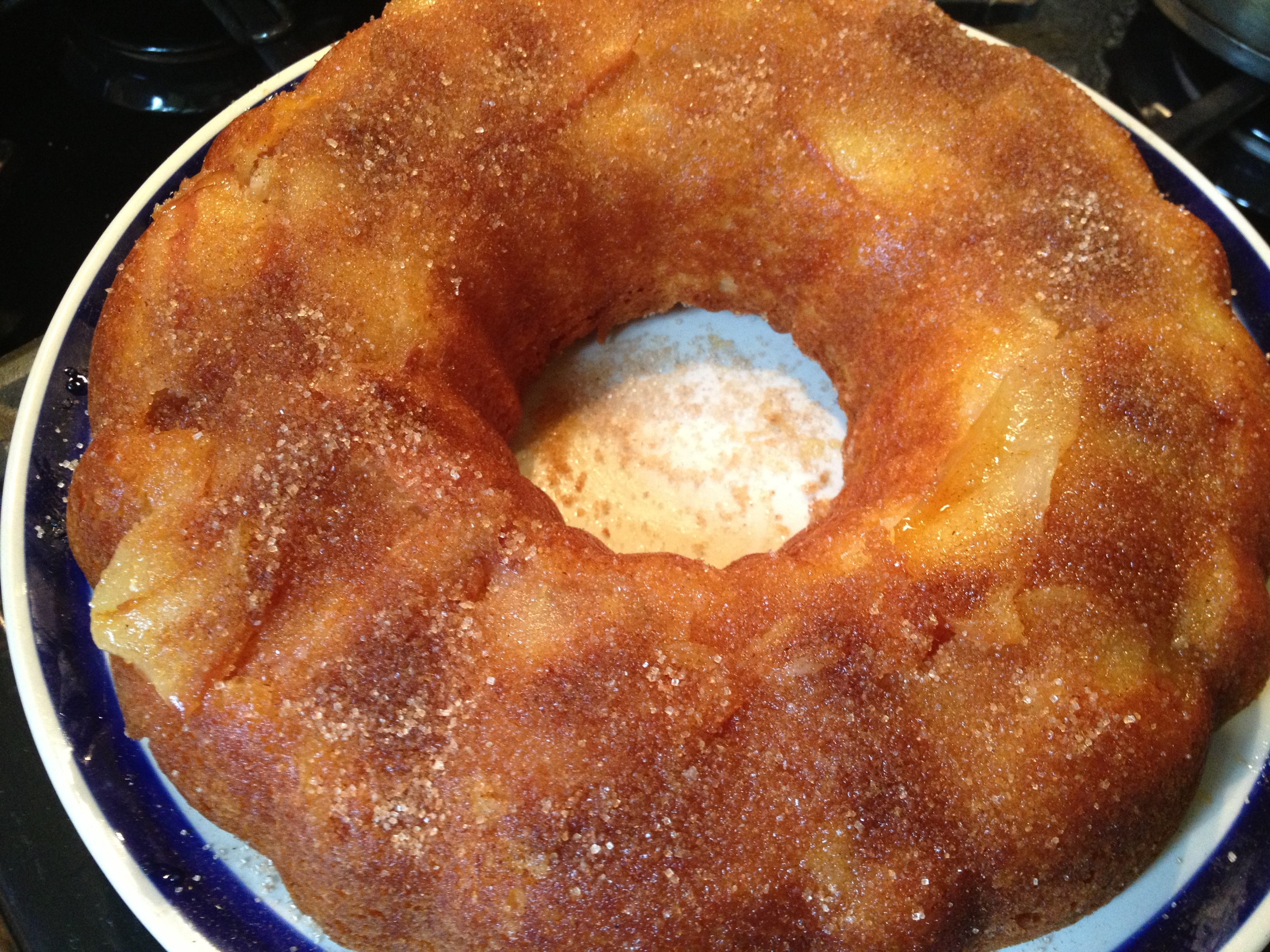 easy apple cake recipe | Cauldrons and Cupcakes