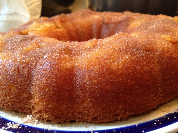 Apple and cinnamon tea cake recipe cauldrons and cupcakes for Easy bundt cake recipes from scratch