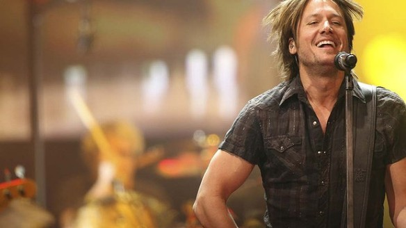 Keith Urban performing on stage - he owul dnever have achieved his dreams without practice, and being brave enough to take a chance on himself. Photo: Daniela Rodriguez