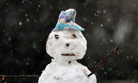 Sad Snowman - Image from www.pickthebrain.com