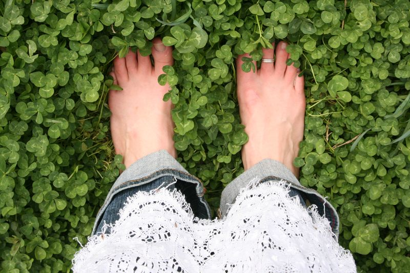 Grounding helps build up negative ions in our bodies stored in the earth.