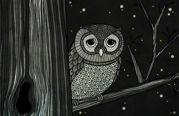 Owl by Caroline Johansson