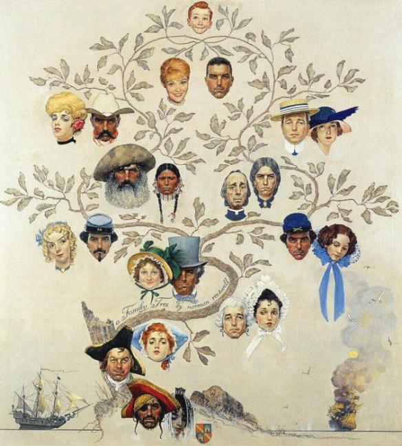 Family Tree by Normal Rockwell