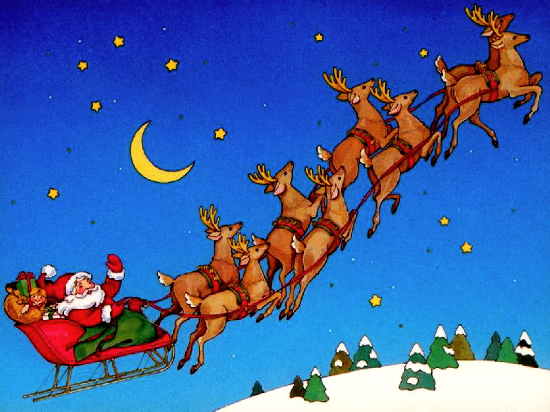 An Important Message from Santa's Reindeers | Cauldrons ...