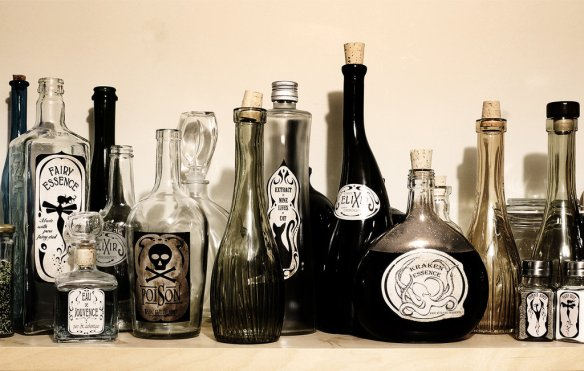 Bottle of Poison by Julie-Chantal