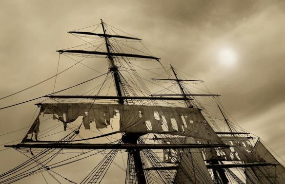 Tattered Sails by Joe Bonita