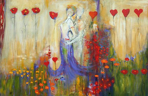 'Hearts and Flowers' by Lauren Marems