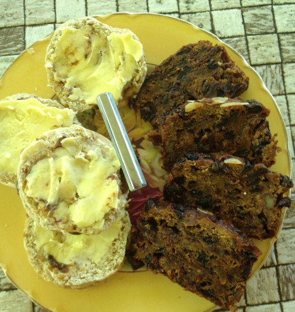 scones-and-fruitcake