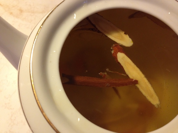 licorice and turmeric tea