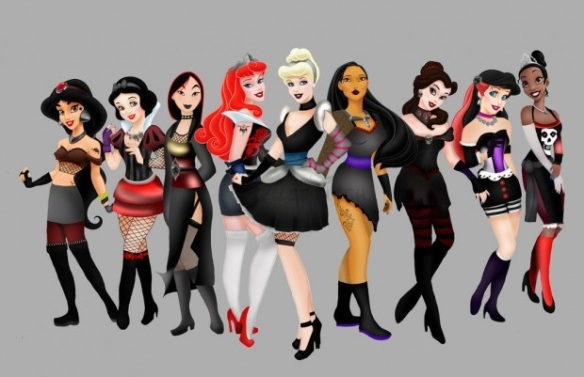 Disney Goths Image from Hellee Titch