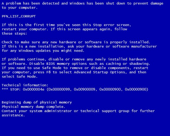 windows-blue-screen-of-death-pfn_list_corrupt
