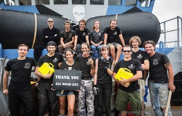 Image of Sea Shepherd Crew from All Road Sat