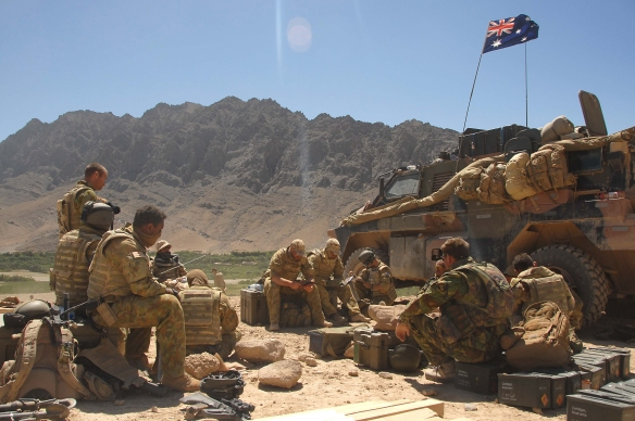 Australians in Afghanistan - Photo by Corporal Neil Ruskin