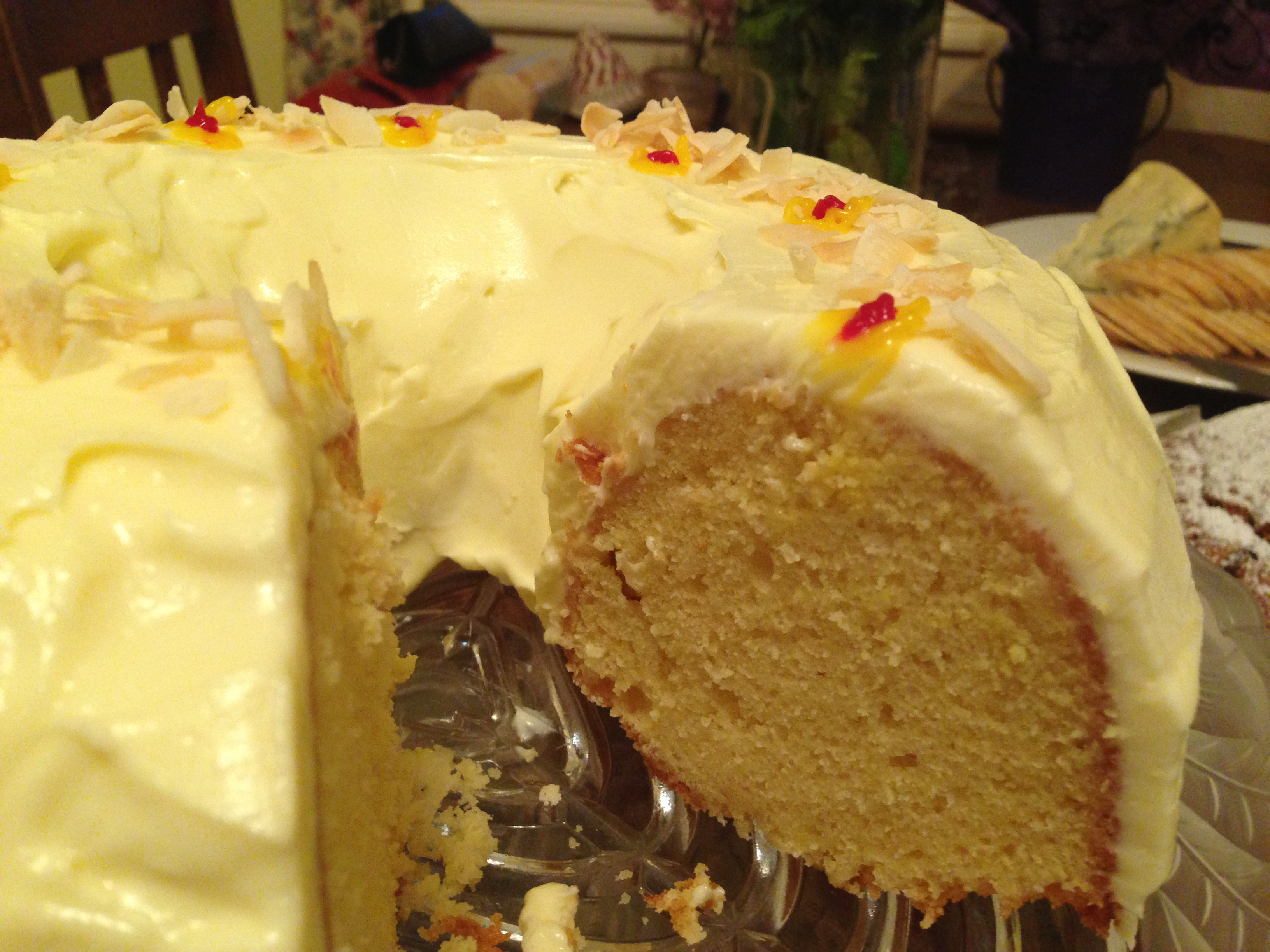 Easy Cake Butter Icing: Easy Orange Butter Cake With Cream Cheese Frosting