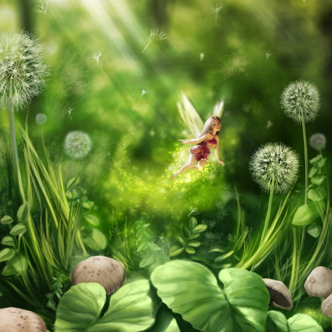 Real Fairy Wallpaper