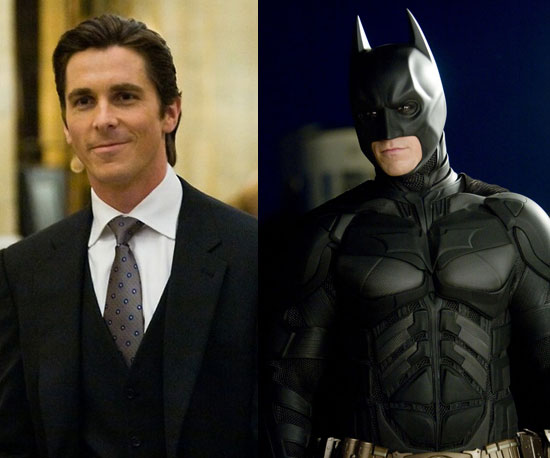 Bruce Wayne hiding his true identity as Batman - image from www.popsugar.com