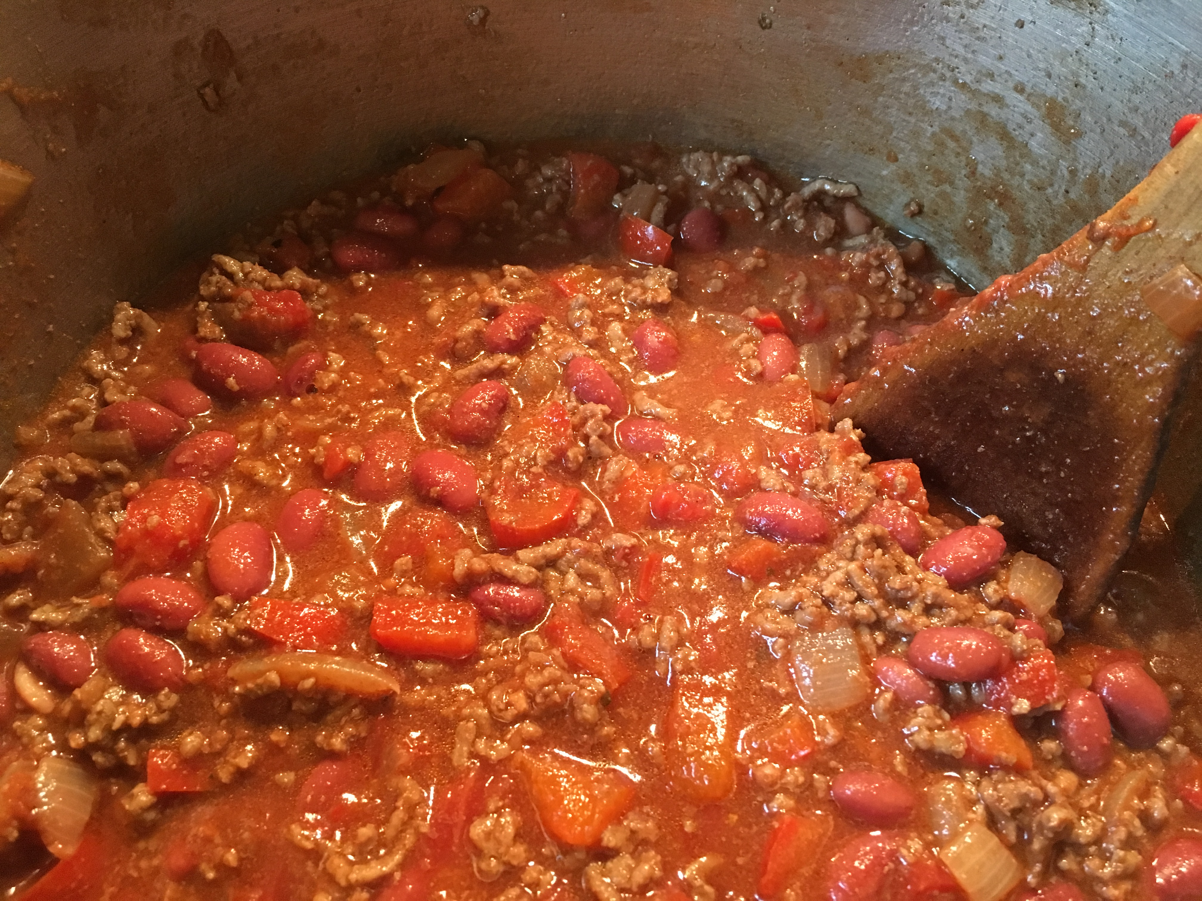 Comfort food cauldrons and cupcakes for Adding chocolate to chilli con carne