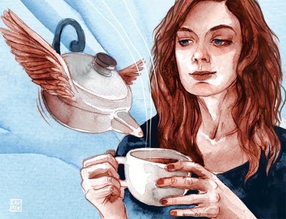 teapot portrait