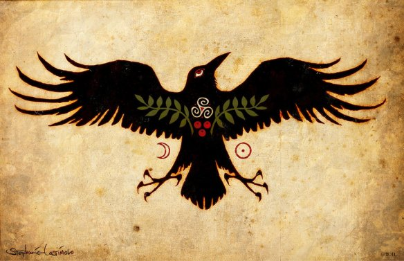raven crow magic dreaming talisman